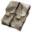 Подсумок Condor Outdoor Double M4 Mag Pouch под 2 магазина двойной A-tacs AU