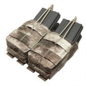 Подсумок Condor Outdoor MA43 Double Stacker Open-Top M4 Mag Pouch двойной A-tacs AU