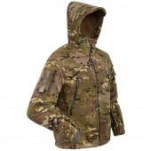 Куртка ANA Tactical Дамаск флисовая с мембраной multicam