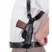 Кобура Holster наплечная вертикального ношения мод. V Neo-Bass Beretta-92 кожа черный