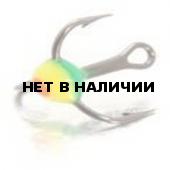 Крючок-тройник LUCKY JOHN для приманок с каплей цвет. разм.008 GRY 10 шт