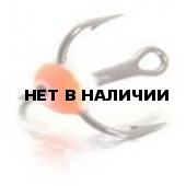 Крючок-тройник LUCKY JOHN для приманок с каплей цвет. разм.012 FR 10 шт