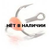 Крючок-тройник LUCKY JOHN для приманок с каплей цвет. разм.008 FR 10 шт