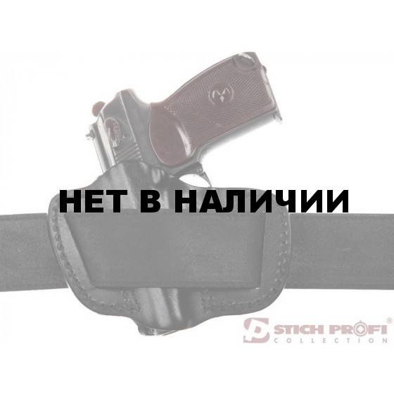 Кобура Stich Profi для ПМ поясная модель №1 Расположение: Левша, Цвет: Черный, Ширина ремня: 50 мм.