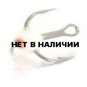Крючок-тройник LUCKY JOHN для приманок с каплей цвет. разм.010 F 10 шт