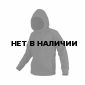 Толстовка Stich Profi флисовая Stich Profi с капюшоном приталенная черная