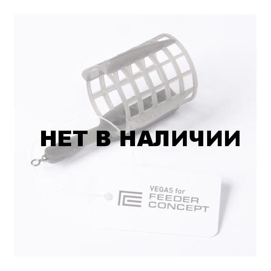 Кормушка FEEDER CONCEPT фидерная Vegas FC СЕТКА МАЛАЯ 014г 10 шт