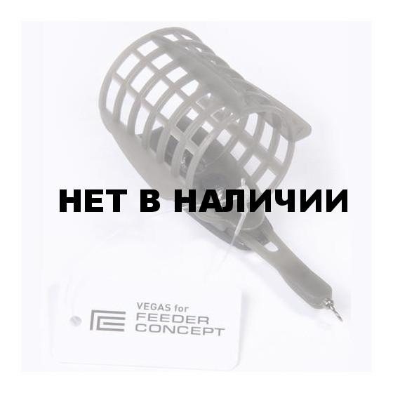 Кормушка FEEDER CONCEPT фидерная Vegas FC СЕТКА БОЛЬШАЯ 030г 10 шт