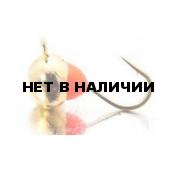 Мормышка LUCKY JOHN вольфрамовая ШАР с петелькой и эпоксидной каплей 030/RG 5 шт
