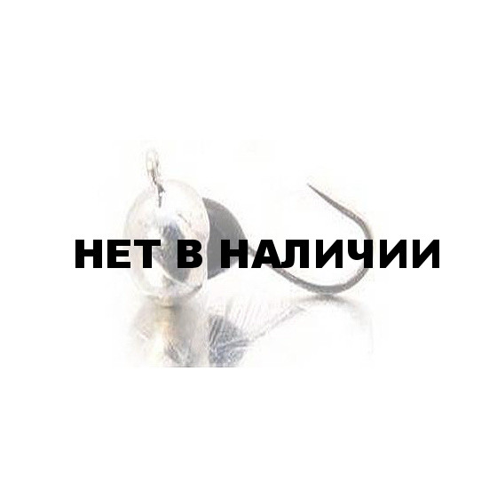 Мормышка LUCKY JOHN вольфрамовая ШАР с петелькой и эпоксидной каплей 050/BS 5 шт