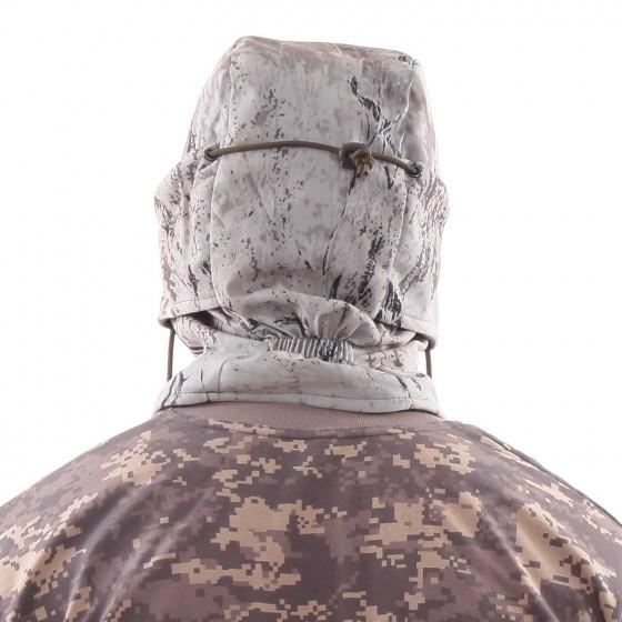 Балаклава-маска Keotica мембрана на флисе снежный шторм