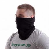 Балаклава-маска Keotica Фантом 100% хлопок черная