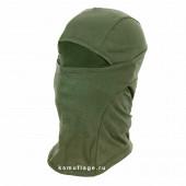 Балаклава-маска KE 100% хлопок олива