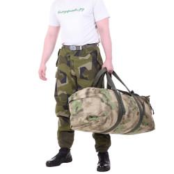 Баул KE Tactical Tour 80л Polyamide 900 Den A-Tacs FG со стропами олива