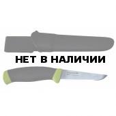 Нож MORAKNIV рыболов. в пласт. ножнах KNIV FISHING COMFORT FILE 090 блистер