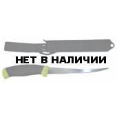 Нож MORAKNIV рыболов. в пласт. ножнах KNIV FISHING COMFORT FILE155 блистер