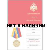 Бланк VoenPro удостоверения к медали 15 лет МЧС России
