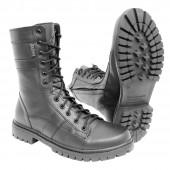Ботинки Зубр Канзас м. 330 натуральный мех на молнии черные
