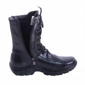 Ботинки Армада Полюс м. 101и на молнии искусственный мех черные