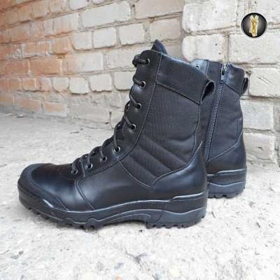 Ботинки Garsing G.R.O.M. на молнии м. 0139 черные