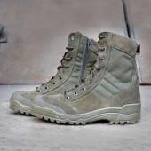 Ботинки Garsing G.R.O.M. на молнии м. 0139 О олива