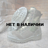 Ботинки с высокими берцами Гарсинг 0139 AT G.R.O.M. Zip Camo A-FG, цвет Олива/мох