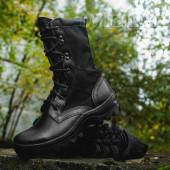 Ботинки с высокими берцами Гарсинг 516 Black Shot, цвет - черный