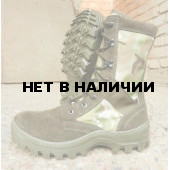 Ботинки с высокими берцами Гарсинг 516 МО Shot Camo Multi, Олива и Multicam