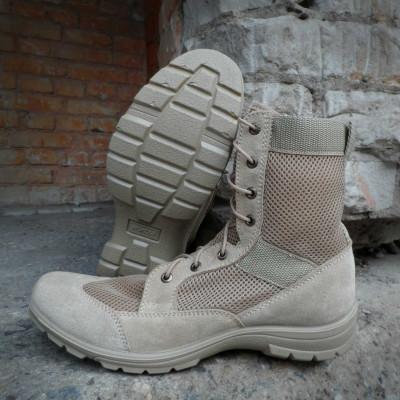Ботинки с высокими берцами Гарсинг 5235 П Breeze, цвет - песочный