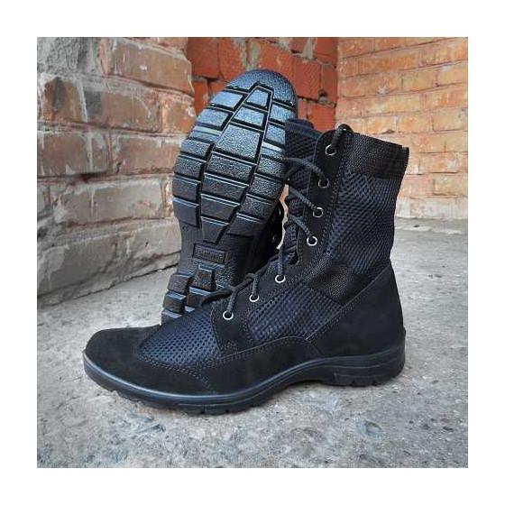 Ботинки с высокими берцами Гарсинг 5235 С Breeze, цвет - черный