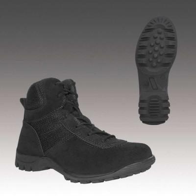 Ботинки с высокими берцами Гарсинг 626 С Aravi Black Suede, цвет - черные