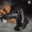 Ботинки с высокими берцами Гарсинг 705 «Aviator», цвет - черный