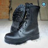 Ботинки Garsing Soldat Winter м. 50854 натуральный мех черные