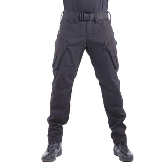 Брюки Keotica TAC-O тактические Canvas 60% хлопок 40% пэ черные