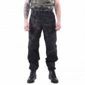 Брюки KE Tactical Снайпер-2 рип-стоп multicam black