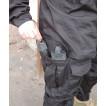 Брюки Гарсинг БСПН рип-стоп со съемной интегрированной защитой черные X