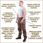 Брюки Снайпер-2 рип-стоп A-Tacs FG