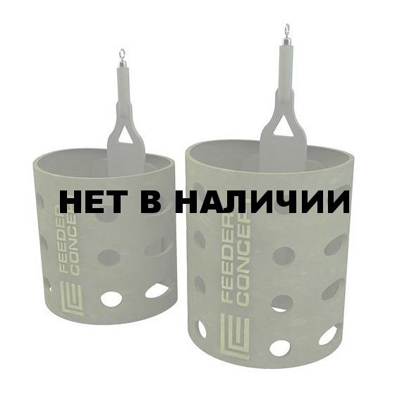 Кормушка FEEDER CONCEPT фидерная Cocnept Nano ОВАЛ 060г 10 шт