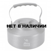 Чайник Tramp походный из анодированного алюминия, объем 1,1 л, с крышкой