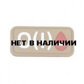 Патч Stich Profi ПВХ Группа крови Цвет: Бежевый, Модель: O I Rh-