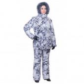 Костюм Holster женский Ангара-зима мембранное трикотажное полотно снегири