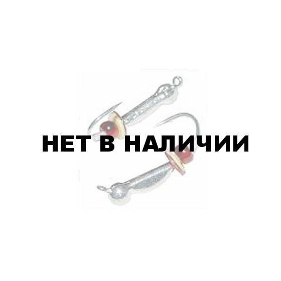 Мормышка LUCKY JOHN вольф. ОСА с петелькой оснащённая паетками и кембриком 035/S 5 шт