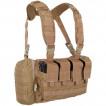 Жилет ANA Tactical Альфа разгрузочный с 4 подсумками под 2 магазина АК и 2 подсумками под имущество на molle coyote brown