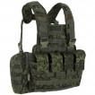 Жилет ANA Tactical Альфа разгрузочный с 4 подсумками под 2 магазина АК и 2 подсумками под имущество на molle ЕМР
