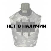 Фляга Tactical PRO пластиковая 950мл в чехле AT-digital