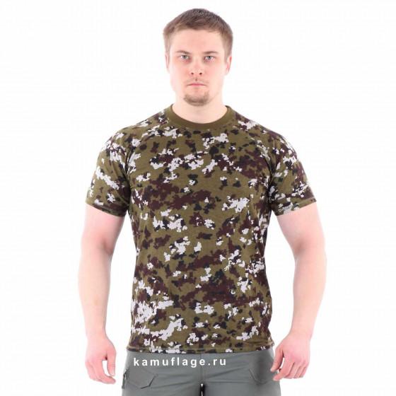 Футболка Keotica 100% хлопок пограничная цифра, производитель Keotica Купить - Интернет-магазин форменной одежды forma-odezhda.ru
