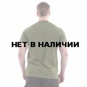 Футболка Keotica 100% хлопок Русь олива с черным
