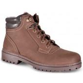 Ботинки ХСН Пикник натуральный мех коричневые