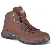 Ботинки ХСН Стайл натуральный мех коричневые