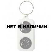 Компас-брелок Tramp с термометром сувенирный